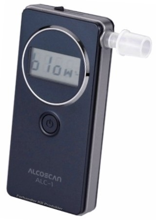 Alkotester ALC-1 Nyhet i Norge
